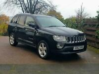 2012 Jeep Compass 2.2 CRD Limited 5dr ESTATE Diesel Manual