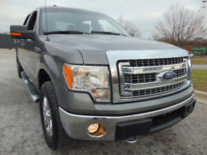 2014 FORD F-150 SUPER CREW, XTR 4X4,ONE OWNER, 3.5L V6,ECOBOOST!