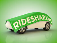 LONDON TO TORONTO RIDESHARE SATURDAY AFTERNOON AT 1:45PM