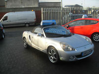 Toyota MR2 ROADSTER 1.8 VVTI CONVERTIBLE