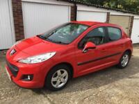 2009 (59) Peugeot 207 1.4HDI 70 Verve LOW MILEAGE 44K LONG MOT £30 ROAD TAX PX