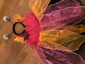 Princess Butterfly costume sz 7-8 New