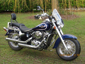 Kawasaki VN800 Classic, 2003. One owner from new.
