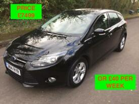 2014 FORD FOCUS 1.0 ECOBOOST ZETEC / PX WELCOME