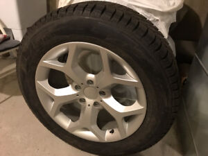 Chevorlet 235/60/R18 winter tires, mags