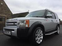 2005 LAND ROVER DISCOVERY 3 2.7 TDV6 S 5DR MANUAL 7 SEATER