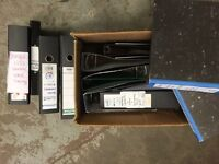 16 A4 lever arch files / folders - Used in office