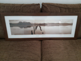 Large picture in frame