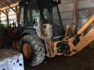 Case 580 super m backhoe