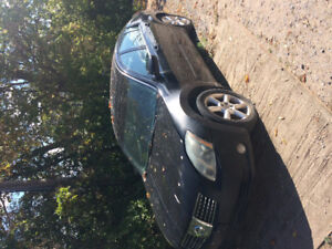 2005 Nissan Maxima Black As is