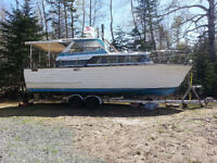Boat for sale 2500$ Negotiable Will trade for old car