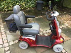 Kymco Mobility scooter.Road Legal 4/8mph. Very smooth drive.