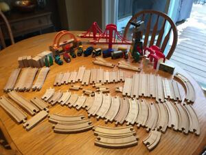 Thomas and Wooden Train Lot