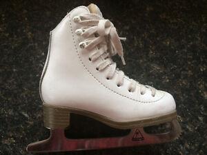 Jackson Figure skates sz 10 little girls -  great support