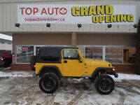 2002 Jeep TJ sport LIFT AND TIRES, WE FINANCE!