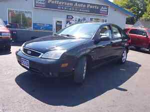 2007 ford focus leather roof cold a/c cert etested we finance