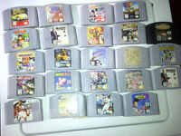 Nintendo N64 Games For Sale 90s Cool Video Games Mario