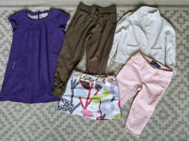 Clothes Age 3-5 inc Mini Boden, Gap, Tiny Tots Togs