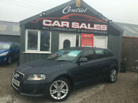 2009 AUDI A3 1.9TDLE SPORTBACK SPORT 5DR FINANCE & PARTX WELCOME **FSH**