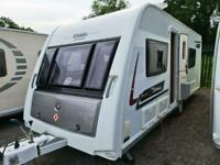 Elddis Affinity 540 2014 Touring Caravan 4 Berth Fixed Bed End Washroom