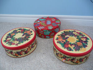 Assortment of Brand New Tins - 11 in Total London Ontario image 1