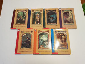 A Series of Unfortunate Events~ Books #1, #2, #3 and #4 left ~