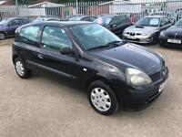 Renault Clio 1.2 Authentique ~ 2003 ~ JULY 18 MOT ~ BARGAIN ~