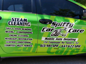 Spiffy Car Care, OTTAWA'S MOST EXCLUSIVE DETAILERS !!