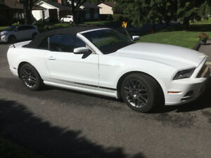 2014 Ford Mustang V6 Premium Coupe (2 door) convertible