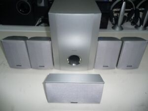 Pioneer S100DV compact home theater surround sound speakers