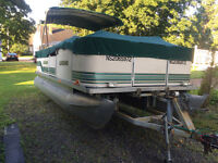 2000 legend pontoon with 50 evinrude