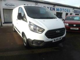2019 Ford Transit Custom 2.0 300 BASE P/V L1 H1 104 BHP PANEL VAN Diesel Manual