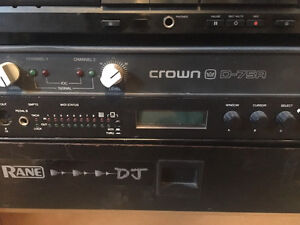 Amplificateur CROWN D75 A
