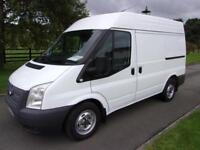 FORD TRANSIT 280 100PS SEMI HIGH VAN 12 REG 65,000 MILES AIR CON