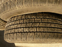 175/65 R14 four tires with Rims
