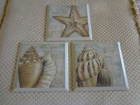 Set of 3 Shell pictures from the USA