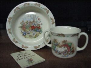 Royal Doulton Bunnykins Childs Mug & Bowl Set