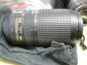 Nikon ED VR AF-S Nikkor lens (REDUCED PRICE)