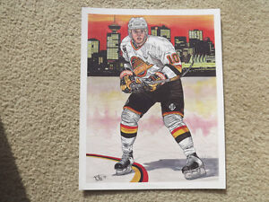 "FS: 1992 Classic Sports ""Pavel Bure"" Limited Edition Print London Ontario image 1"