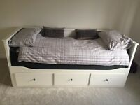 IKEA Hemnes Day bed - like new with Malfors Mattresses