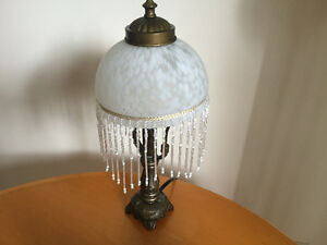 Vintage mini table lamp - $10