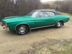 72 Chevelle survivor absolutely mint cond.
