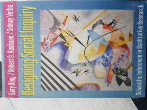 Designing Social Inquiry (1994)