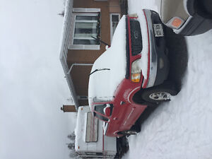 1999 Ford  150 Red Pickup Truck