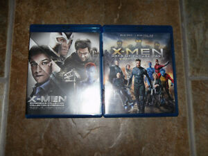 X-Men: Collection, Blu-ray