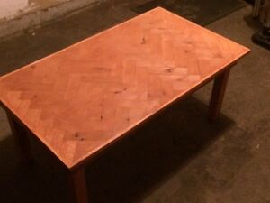 Reclaimed Wood - Maple and Oak coffee table