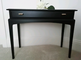 New Stag Minstrel hall, dressing, console table - black, gold