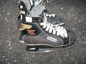 Hockey skates and other equipment
