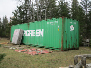 40 FT. SHIPPING CONTAINER FOR SALE
