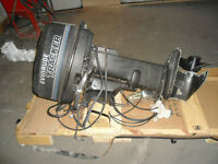 25 hp Evinrude out board motor